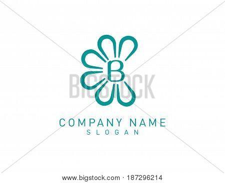 Flower B logo on a white background