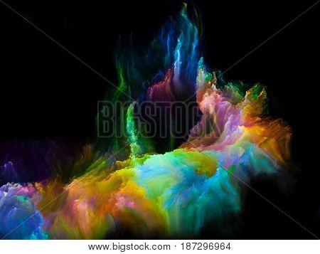 Paint Of Fractal Brush
