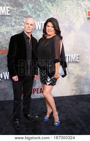 LOS ANGELES - MAY 19:  James Marshall, Rebekah Del Rio at the