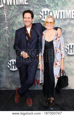 LOS ANGELES - MAY 19:  Rob Morrow, Debbon Ayer at the