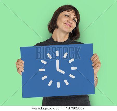 Analog Mechanical Clock Watch Illustration