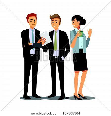 businessmen consulting business marketing  employee work job
