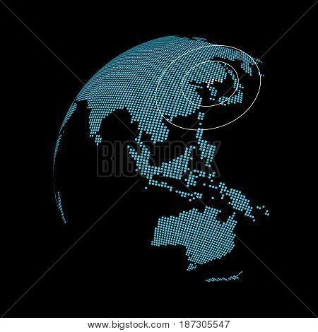 north korea nuclear bomb world Earth signal satellite