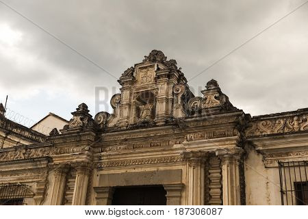 Ancient Architecture In Guatemala