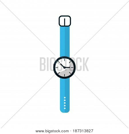 nice watch to know the time of day, vector illustration