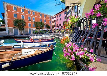 Limone Sul Garda Turquoise Waterfront View
