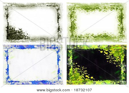 Textured Grunge Frame