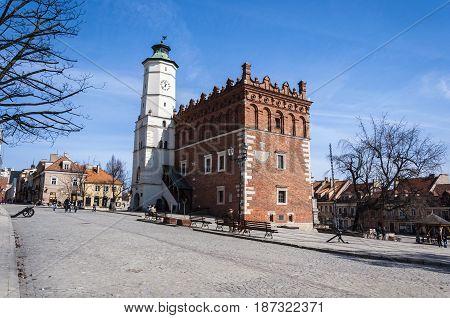 Sandomierz Town Hall.