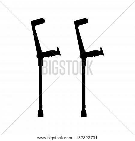 A pair elbow crutches ( shade  pictures )
