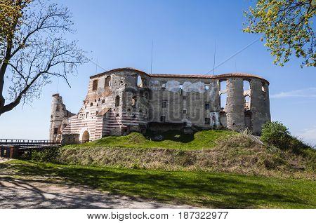 Renaissance Ruins Janowiec Castle.