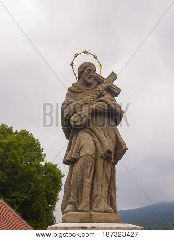 Figure Of St. John Of Nepomuk (john Nepomucene).