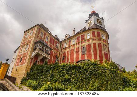Jansky Hill Castle In Javornik Town.