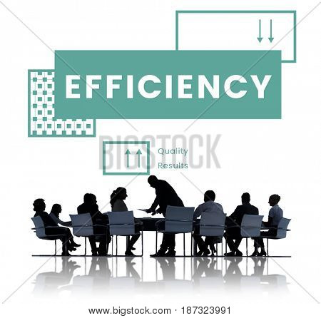 Group of business people brainstorming for performance productivity