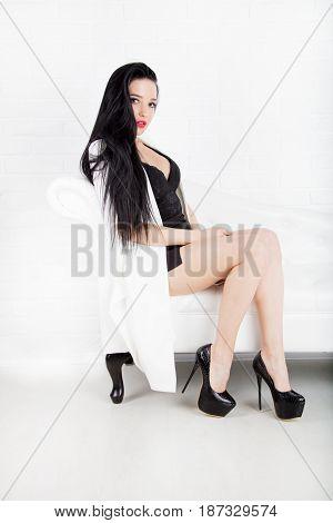 Brunette Sexy Woman