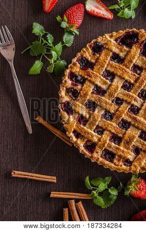 Berries Rustic Tart