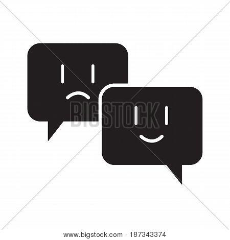 chat emoji icon vector illustration design web