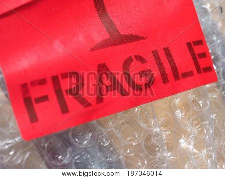 Fragile Sign Label Sign