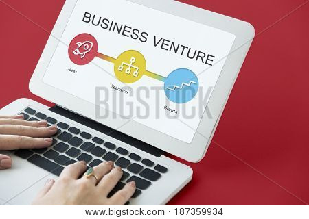 Ideas Teamwork Growth Business Chain