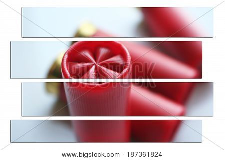 Shotgun Shell Art Close Up High Quality