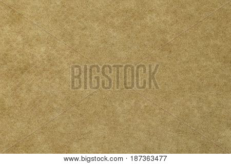 close up detail of old brown paper texture background