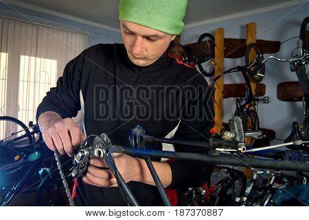 Master Bike Repairs In The Workshop 5