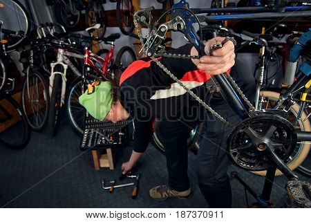 Master Bike Repairs In The Workshop 20