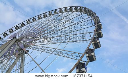 The Big Wheel (Roue de Paris) at Place de la Concorde Paris France