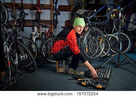Master Bike Repairs In The Workshop 14