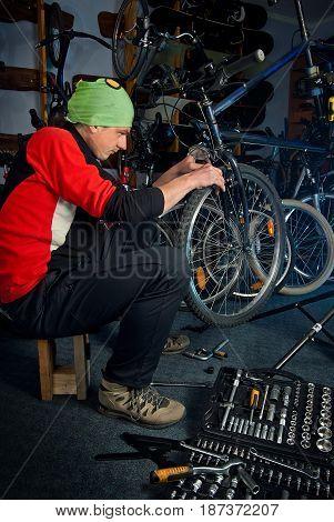 Master Bike Repairs In The Workshop 15