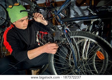 Master Bike Repairs In The Workshop 17