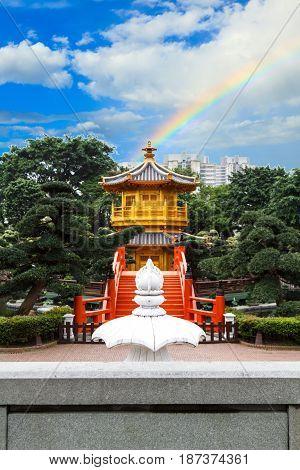 Golden Pagoda, Nan Lian Garden