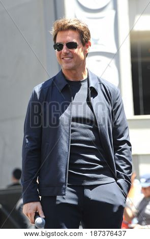 Tom Cruise at Universal Celebrates