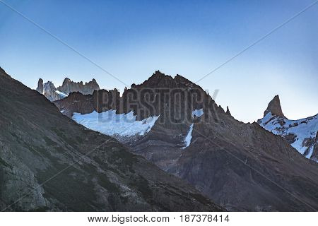 Rocky Andes Mountains, Patagonia - Argentina