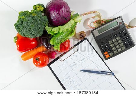 Healthy Organic Food, Ripe Vegetable Composition