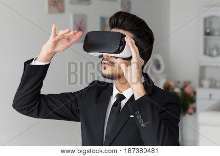 3D Vision Technology Headset, Virtual Simulation