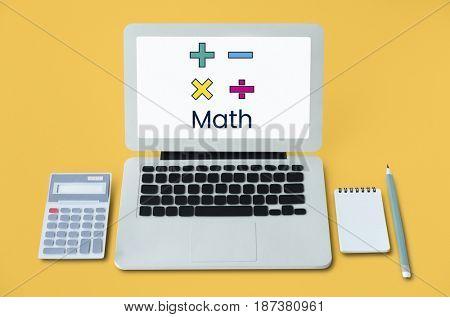 Math Formula Calculation Education Graphic