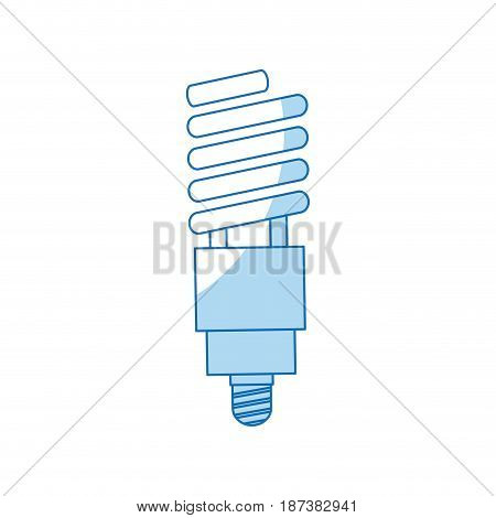 bulb light electricity energy halogen ecological vector illustration