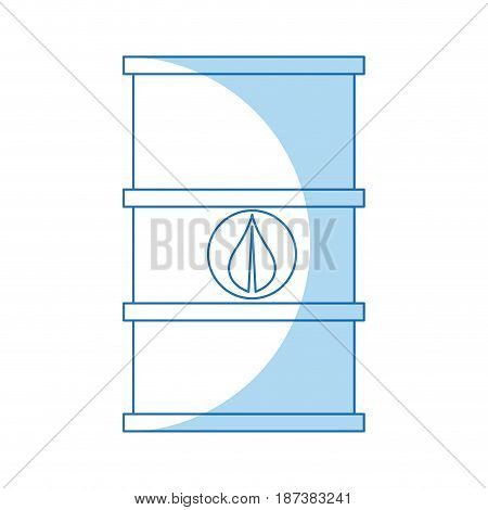 barrel oil environmental industry petroleum vector illustration