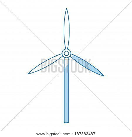 turbine wind sustainable renewable energy vector illustration
