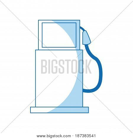gas pump station ecology transport image vector illustration