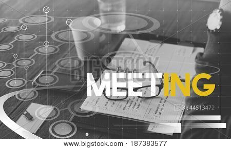 Meeting Seminar Business Assembly Word