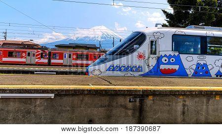 Fujisan Express At Kawaguchiko Station