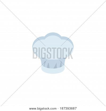 Flat Cooking Cap Element. Vector Illustration Of Flat Chef Hat Isolated On Clean Background. Can Be Used As Chef, Hat And Uniform Symbols.