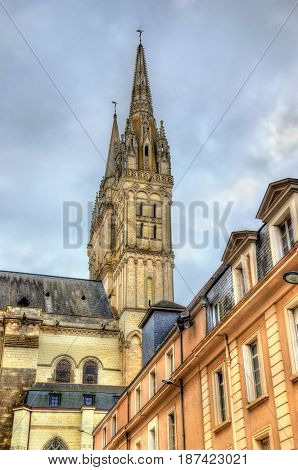The Saint Maurice Cathedral of Angers in France