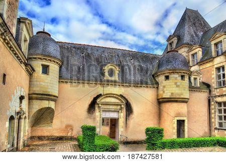 Toussaint Abbey of Angers - France, Maine-et-Loire department