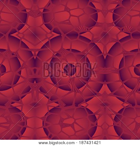 Seamless Abstract Pattern In Red And Grey Tones