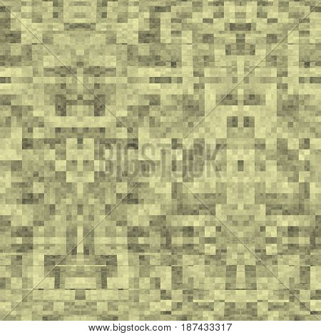 Seamless Abstract Pattern In Yellow And Grey Tones