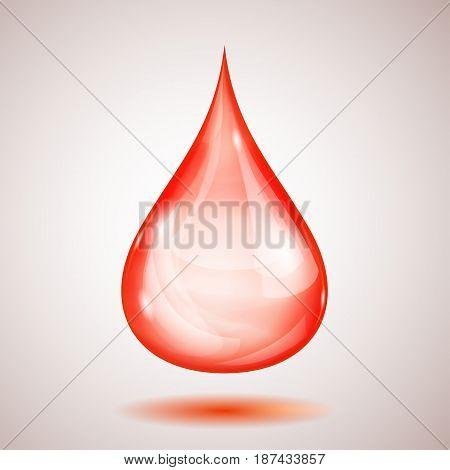 One Big Red Drop