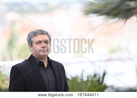 Director Mohammad Rasoulof attends the 'Lerd (Un Homme Integre)' photocall during the 70th annual Cannes Film Festival at Palais des Festivals on May 19, 2017 in Cannes, France.