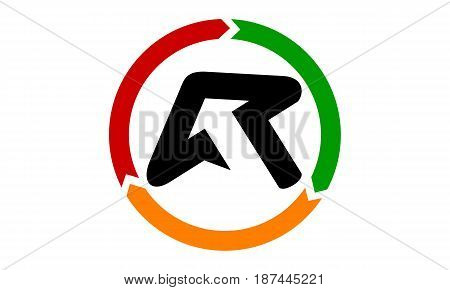 This image describe about Online Marketing Business Distribution Letter R